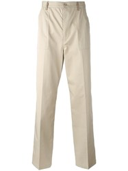 Maison Martin Margiela Classic Chino Trousers Nude Neutrals