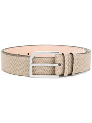 Jimmy Choo Albie Belt Nude And Neutrals