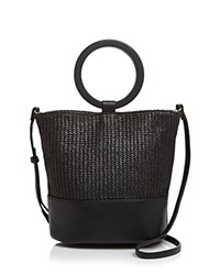 Street Level Ring Tote Black Silver