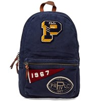 Polo Ralph Lauren Varsity Patch Backpack Blue
