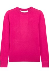 Michael Michael Kors Cutout Knitted Sweater Pink