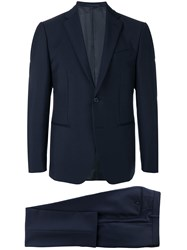 Caruso Two Piece Suit Blue