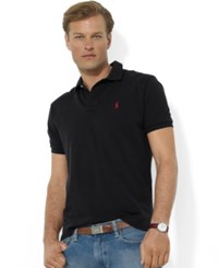 Polo Ralph Lauren Polo Core Solid Classic Fit Mesh Polo Black