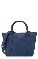 Vessel Signature 2.0 Faux Leather Mini Tote Blue