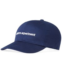 Uniform Experiment Cotton Twill Logo Cap Blue