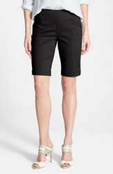 Women's Jag Jeans 'Ainsley' Slim Bermuda Shorts Black