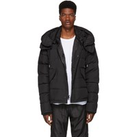 Wonders Black Down Carrier Parka
