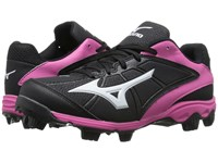 Mizuno 9 Spike Advanced Finch Franchise 6 Black Pink Women's Cleated Shoes