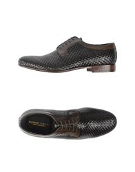 Brian Dales Lace Up Shoes Dark Brown
