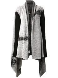 Lost And Found 'Robe' Cardigan Grey
