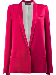 Haider Ackermann Oversized Dinner Jacket Red
