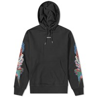 Vanquish Embroidered Detail Popover Hoody Black