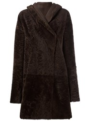 Sylvie Schimmel 'Cortina' Coat Brown