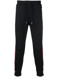 Polo Ralph Lauren Side Stripe Track Pants Black