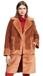 C Meo Collective Love For Me Coat Rust