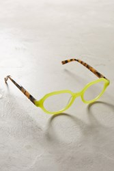 Anthropologie Clio Reading Glasses Green