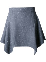 Stella Mccartney Flared Skirt Grey