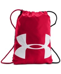 Under Armour Men's Logo Sackpack Red