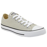 Converse Chuck Taylor All Star Canvas Ox Low Top Trainers Natural