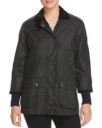Barbour Rain Bedale Spot Print Raincoat 100 Bloomingdale's Exclusive Navy