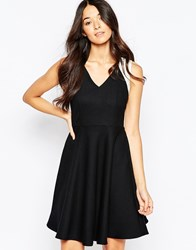 Traffic People Dance With Me Dress With Contrast Straps Silver