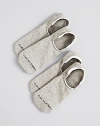 Calvin Klein Low Cut Cushion Sole Socks Pack Of 2 Oxford Heather Grey