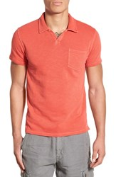 Men's Lucky Brand 'Notch' Knit Polo
