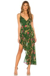 Lovers Friends Caterina Dress Green