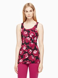 Kate Spade Cinched Bow Tank Romantic Floral