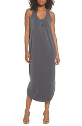 Knot Sisters Delancy Tank Dress Charcoal
