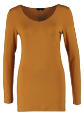 More And More Long Sleeved Top Honey Mustard