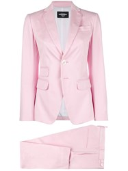 Dsquared2 Two Piece Suit Pink And Purple