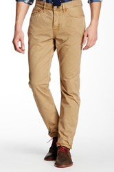 Jack Spade Daley 5 Pocket Canvas Pant Beige