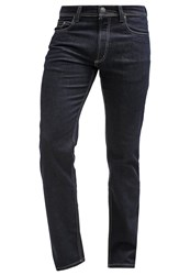 Bugatti Nevada Straight Leg Jeans Raw Denim Dark Blue