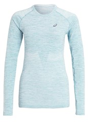 Asics Long Sleeved Top Kingfisher Green