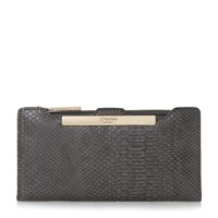 Dune Kiri Slimline Purse Grey