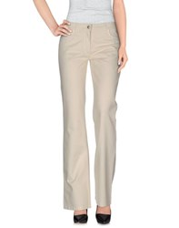 Gattinoni Jeans Trousers Casual Trousers Women Ivory