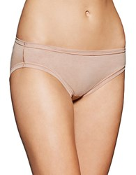 Fine Lines Pure Cotton Bikini Panties Skin