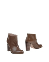Hoss Intropia Ankle Boots Camel