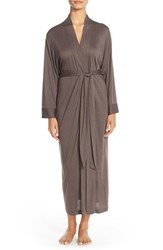Women's Natori 'Shangri La' Robe Brown