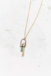 Urban Renewal Jene Despain Nebula Necklace Gold