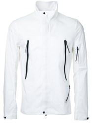 C.P. Company Cp High Neck Lightweight Jacket White
