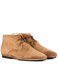Tod's Suede Desert Boots Brown