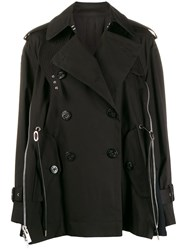 Sacai Zip Trim Trench Coat 60