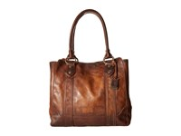 Frye Melissa Tote Dark Brown Antique Pull Up Tote Handbags