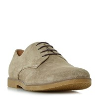 Linea Batter Lace Up Gibson Shoes Stone