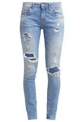 Pepe Jeans Spark Relaxed Fit Jeans Destroyed Denim