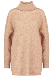Selected Femme Sfmoby Jumper Camel