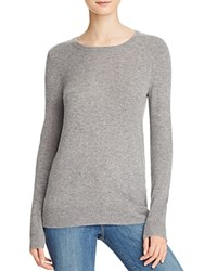 Bloomingdale's C By Crewneck Cashmere Sweater Slate