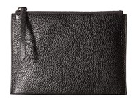 Ecco Sculptured Small Clutch Black Clutch Handbags
